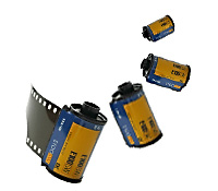 rolls of film