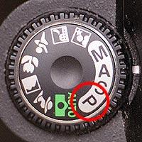 shutter priority camera mode