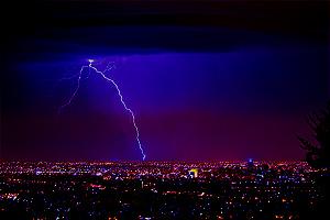 How to photograph lightning - shot 1