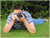 avoid camera shake by lying down and bracing the camera