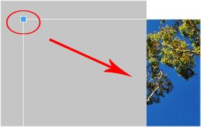 Using Pixlr - image resizing handles
