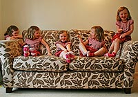 Trick photography technique - taking multiplicity photos