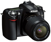 Nikon D50 digital SLR (DSLR) camera