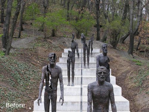 Prague statue - digital photography tutorials example image