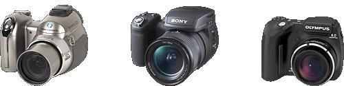 digital camera comparison - SLR like camera
