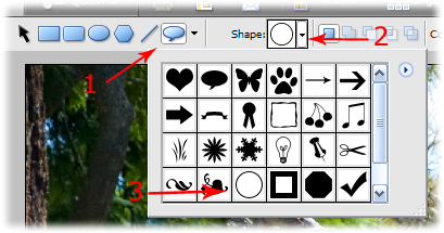 photoshop drawing tool shapes