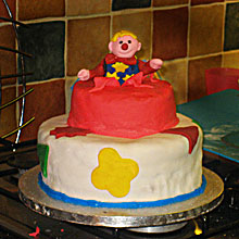 Mr Tumble birthday cake