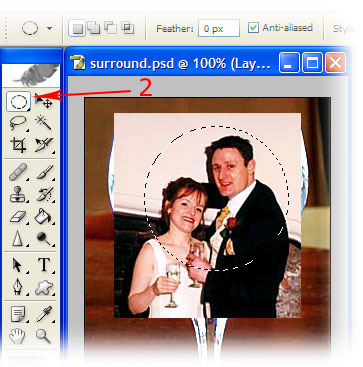 ontemporary wedding photography - multiple exposure step 2