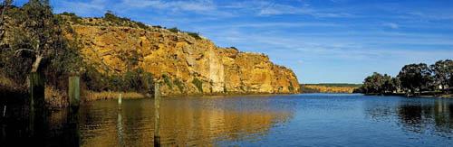 Murray River Australia - panorama