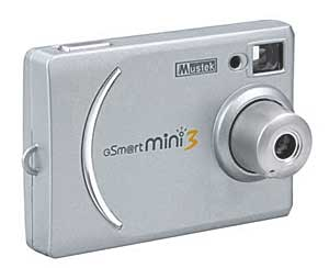 Mustek Gsmart Mini 3 digital camera