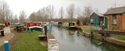 Paper Mill Lock, Essex, England