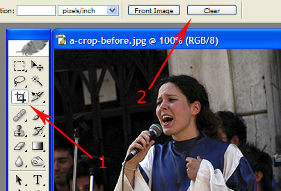 photo shop crop tool 1