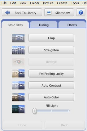 Free photo imaging software - picasa