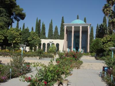 Sa'adi Tomb, Shiraz.