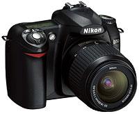 Nikon D50 digital SLR (DSLR) camera
