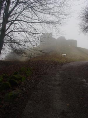 Ascent to Stafford Castle