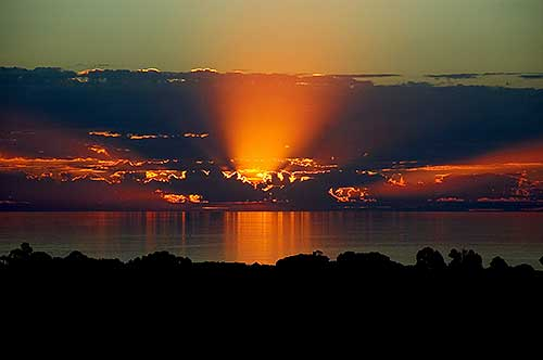 example of a sunset