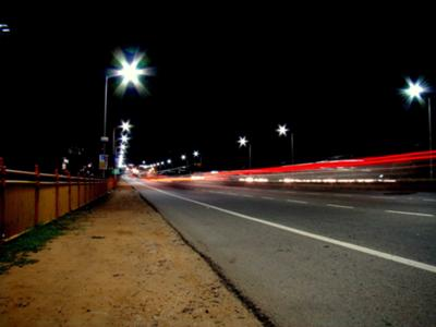 Road @ night.
