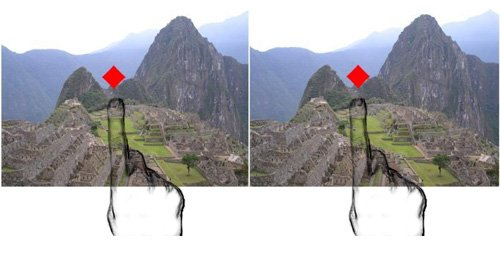 machu picchu 3d stereoscopic trainer image 1