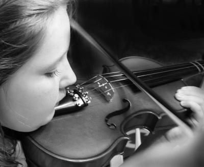 Violinist In Training